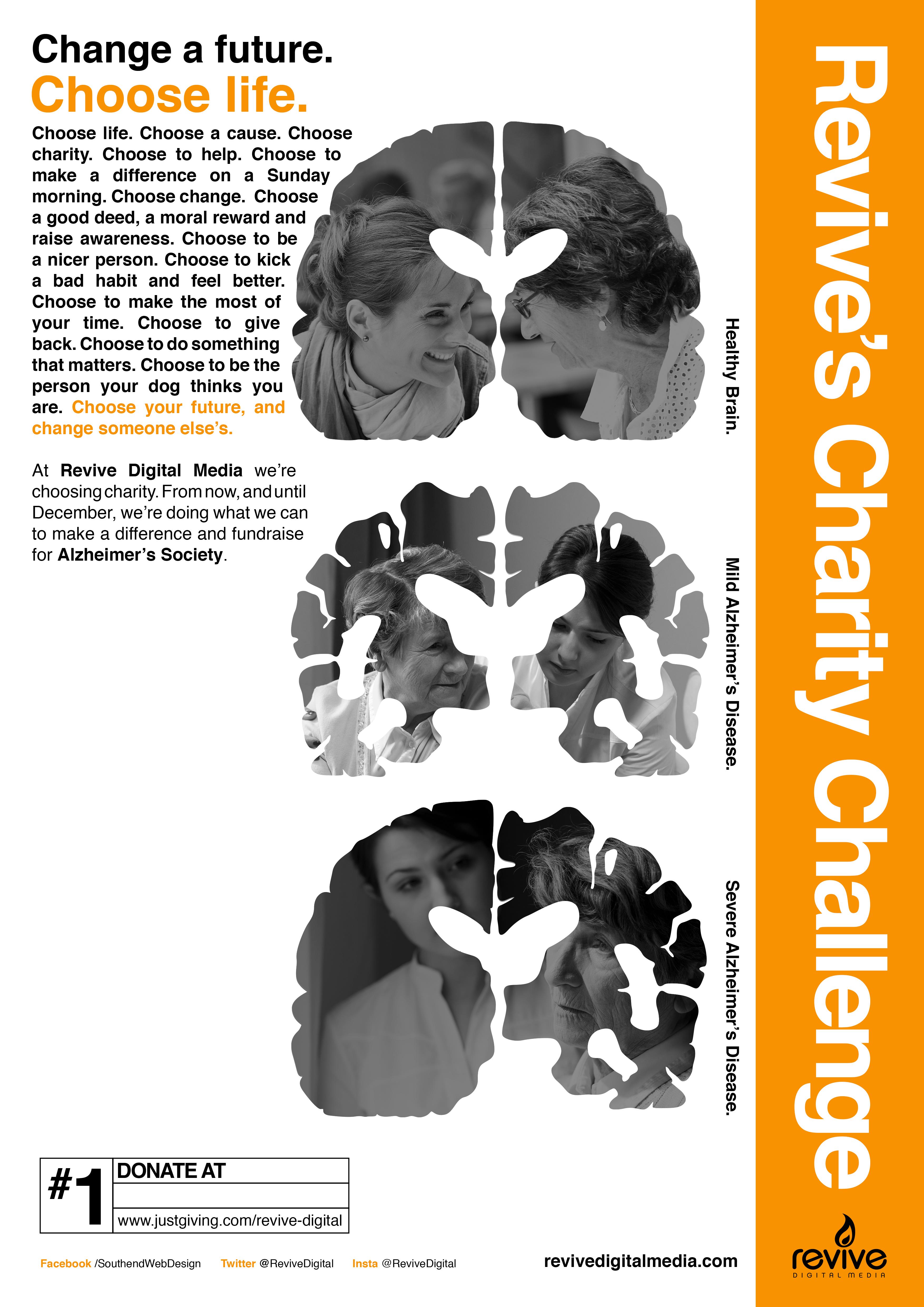 Alzheimer's Charity Poster