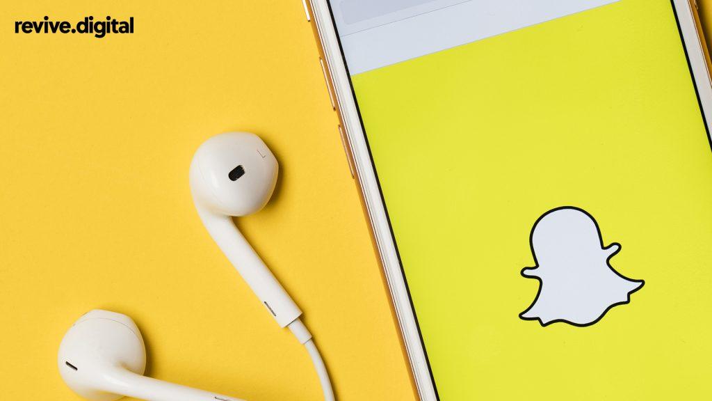 snapchat app in mobile phone