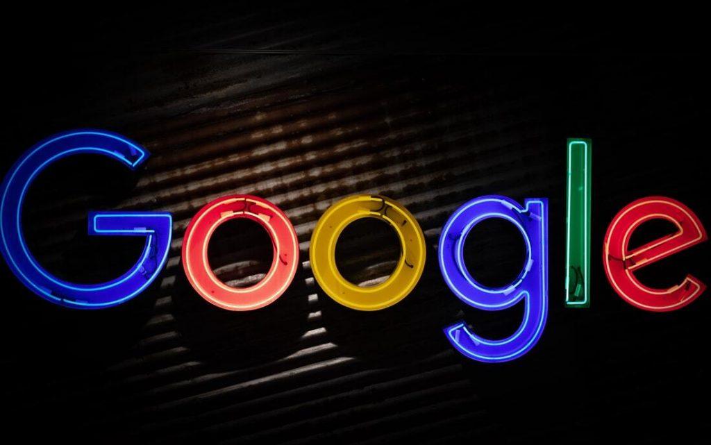 Google Neon Logo