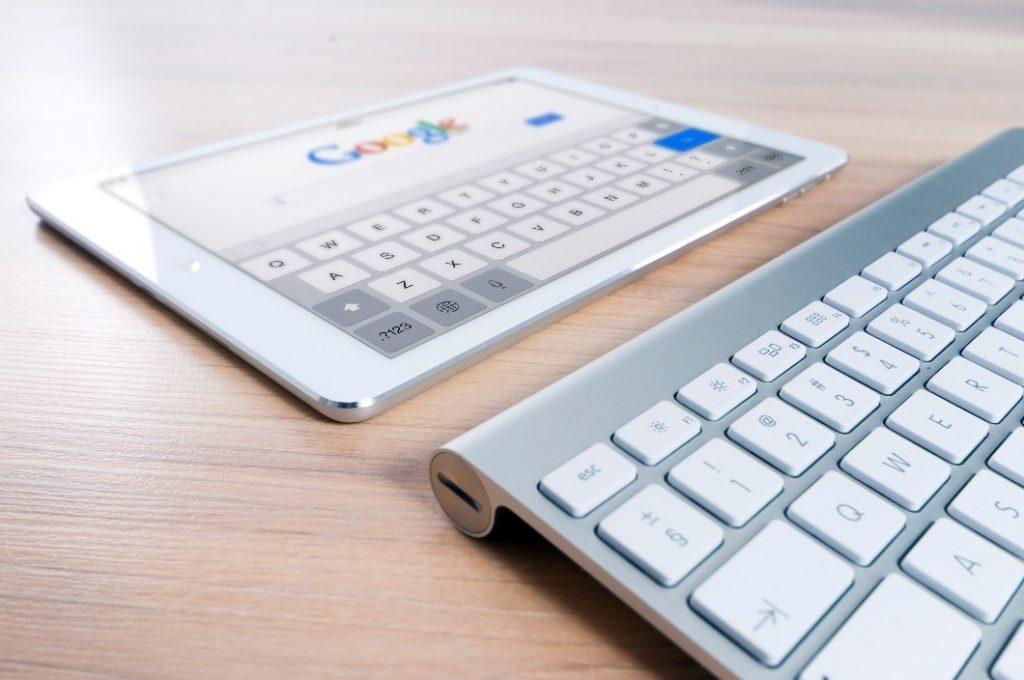 Google in Tablet