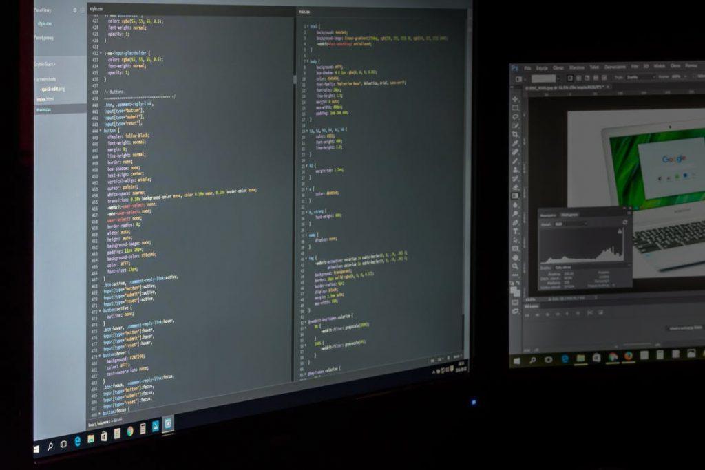 Website coding