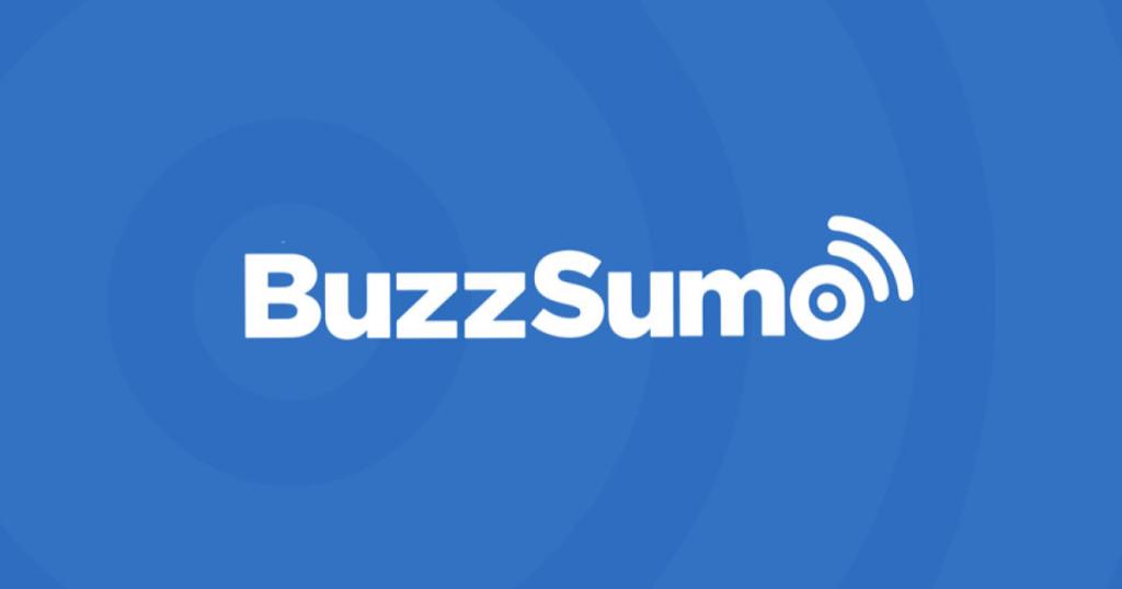 Buzzsumo social media analytics