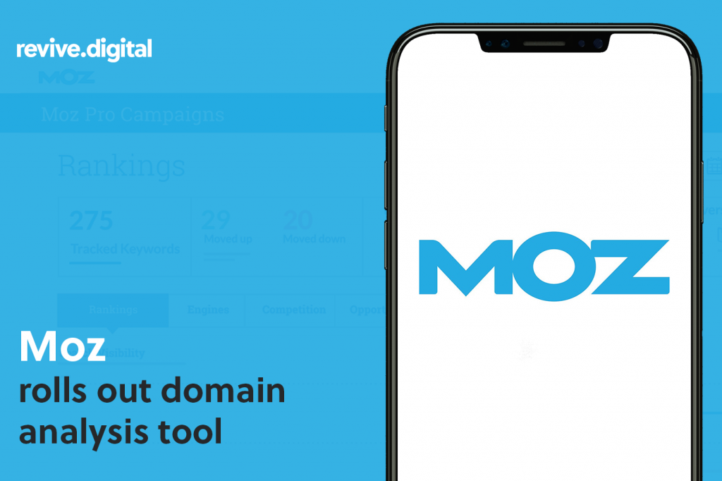 Moz domain analysis tool