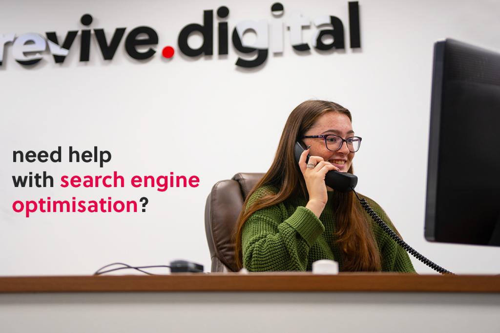 revive digital search engine optimisation