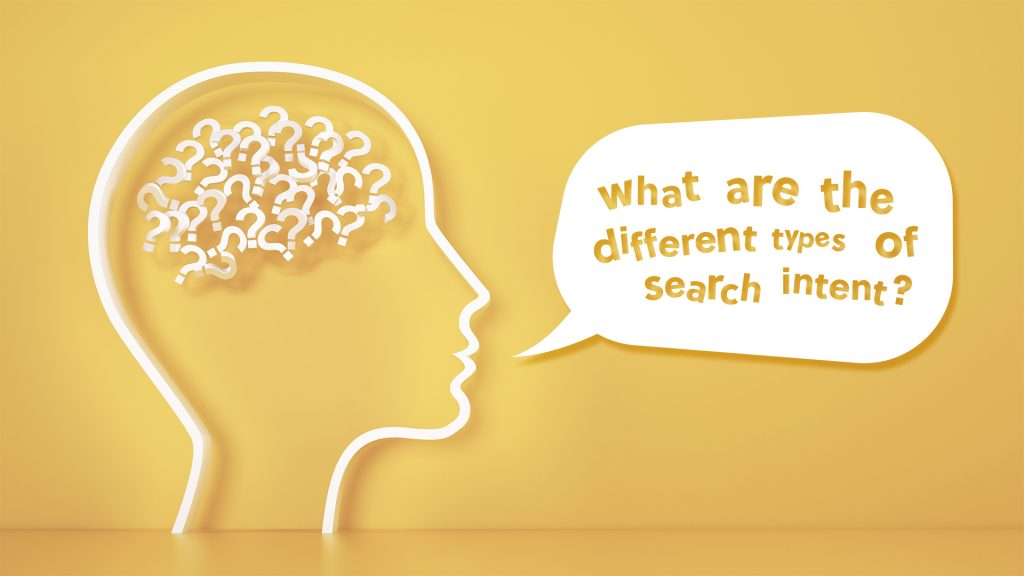what are the different types of search intent