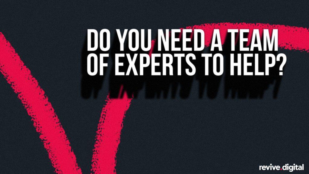 revive digital team of experts