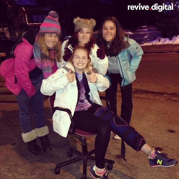 Rosie Wallis ski