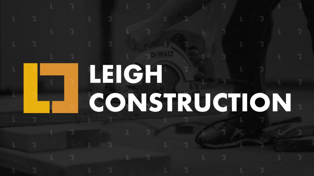 leigh construction logo image