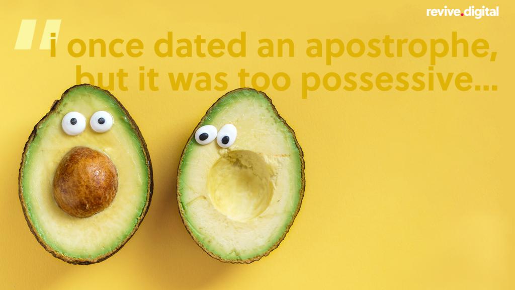 Apostrophe grammar joke