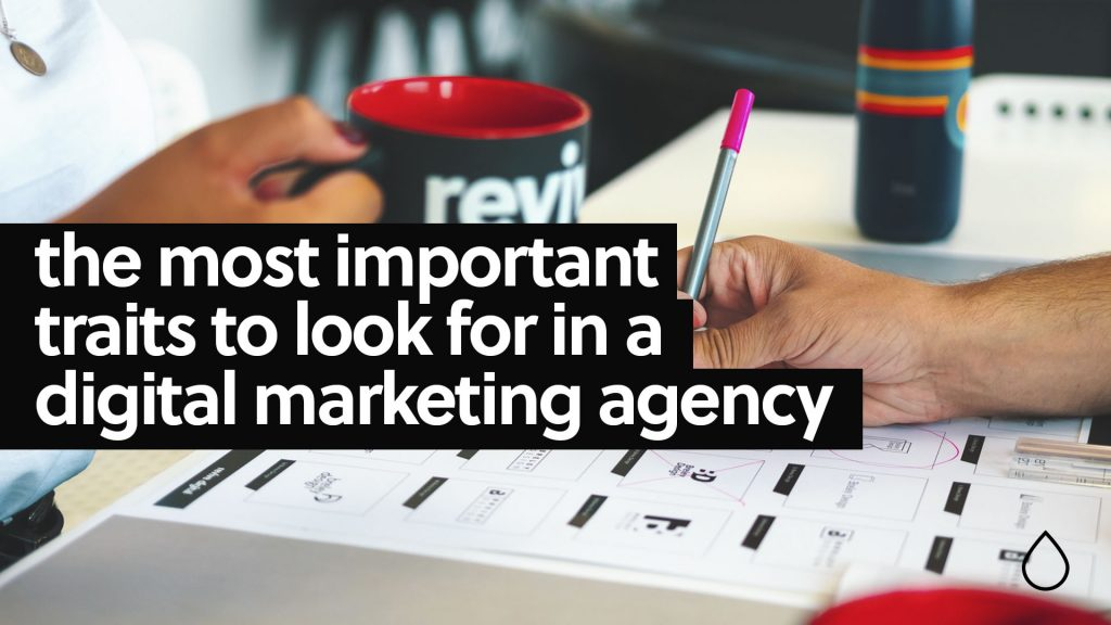 digital marketing agency important traits to look for