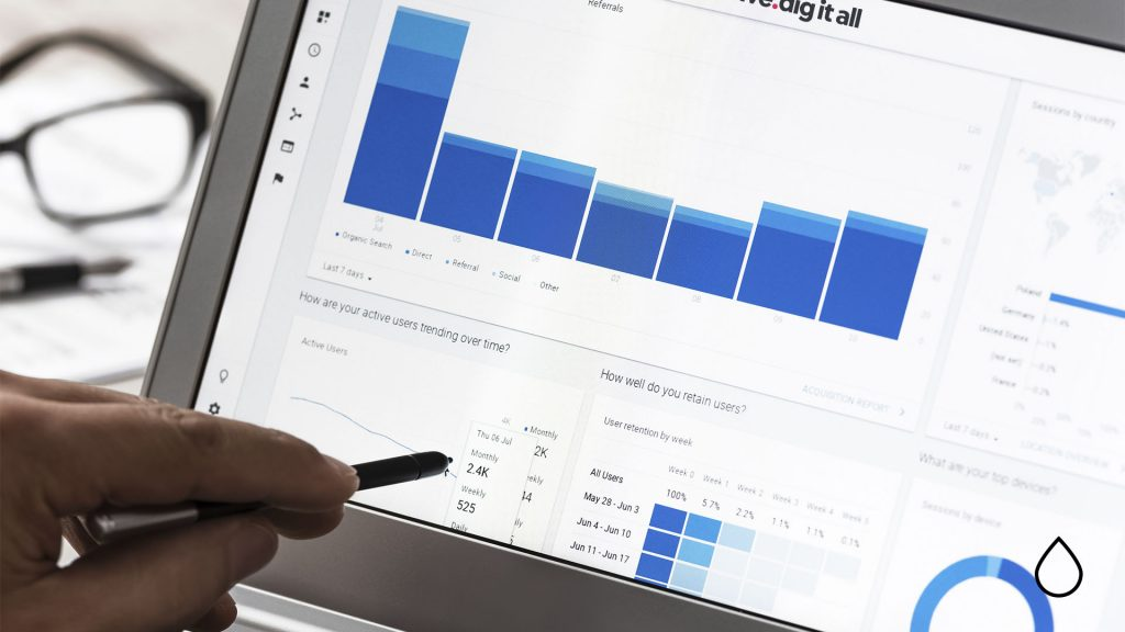 using google analytics to get at your target audience