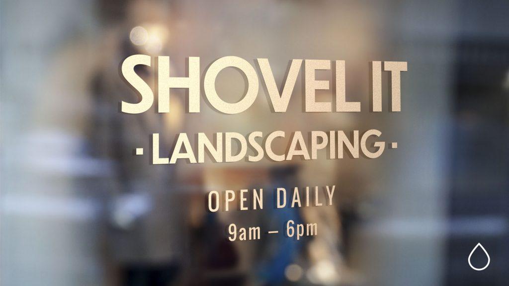shovel it landscapers image