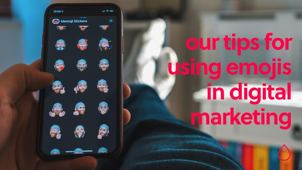 emojis in digital marketing
