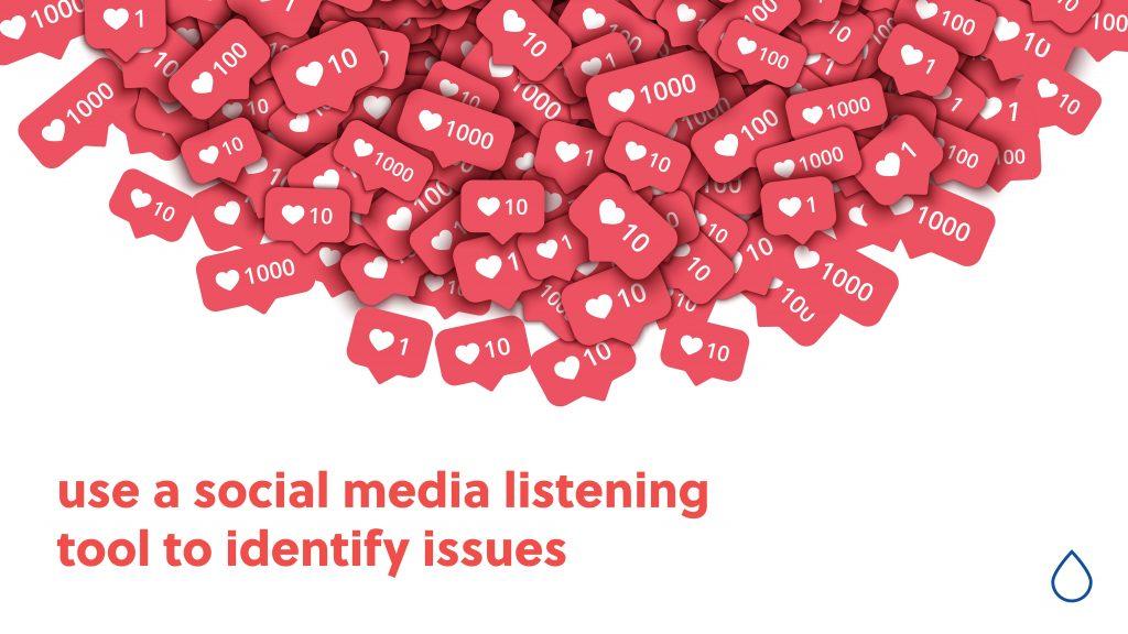 use social media listening tool