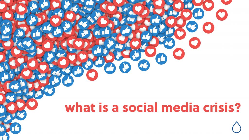 what is a social media crisis