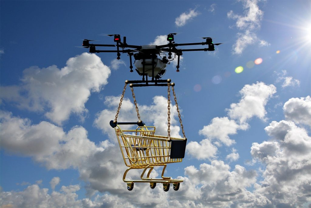 With Fulfilled by Amazon your shopping basket gets delivered quickly